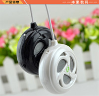 2 Universal Outdoor Brand New Portable Mini Speaker Speakers with 3.5mm Audio Jack Cable line FOR Mobile Phone Computer A-28