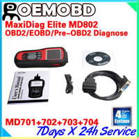 Wholesale AUTEL MD802 scanner system for Engine Transmission ABS airbag DS model MD802 PRO auto code reader