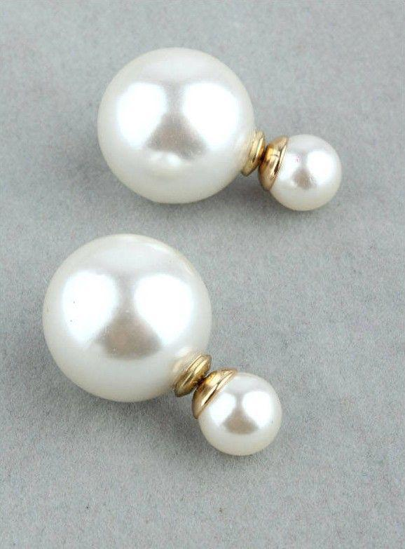 Cheap Fashion Jewelry Pearls Online Cheap Double Sided