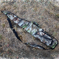 Wholesale 10pcs Hunting Camo Rifle Shotgun Bag slip cm x cm Tactical Rifle Shotgun Gun Case Bag w Pouch