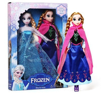 Wholesale New Cute Frozen Anna Elsa Mini Baby Doll Frozen Princesses Action Figures Frozen Movie Toys Set Classic Toys