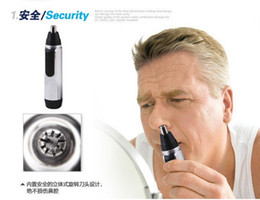 Wholesale Nose Ear Hair Trimmer Men Women Shaver Men Women Personal Face care Shaving Multifunction Electric Nose Hair Trimmer with Retail package