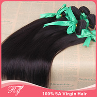 Wholesale king hair virgin brazilian straight hair a natural color quot quot in stock can be colored dyed tape hair extensions