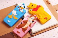 mouse animal - cartoon animal case iphone D Bear Mickey Minnie Mouse Piglet Duck Squirrel Silicone Case soft silicone case cover skin new