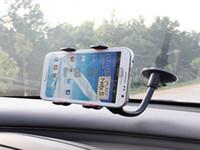 long gooseneck 360 degree rotation Universal Universal Flexible Long Arm Windscreen Suction Car Mount Holder for Mobile Phones