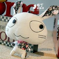 Dibujos animados conejo accesorios del teléfono celular bolsas de tela coche encanto grande regalo de cumpleaños colgando colgante