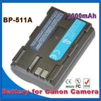 Wholesale BP A Batteries BP A BP511A Camera Battery For Canon EOS D D D D D D D30 D60 D G6 with retail