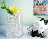 water beads for wedding - Clear Crystal Water Gel Beads for Wedding Party Decor Crystal Soil Pearls Vase Filler Centerpieces