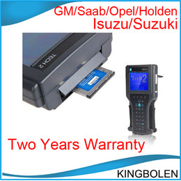Wholesale 2014 Professional GM Diagnostic tool GM tech2 TECH with candi Tis2000 And VCI module Support software with Two years quality warranty