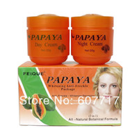 Wholesale PAPAYA Whitening anti freckle natural botanical formula skin care day cream night cream