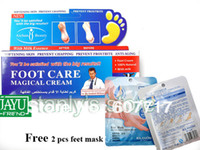 Wholesale Gift feet mask AICHUN beauty Foot care magical cream Heel Lotions nursing cream Soft and white g