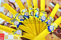 Wholesale Wristwatches c Despicable Me Daddy Thief little yellow people watch children watch boys and girls clap clap table