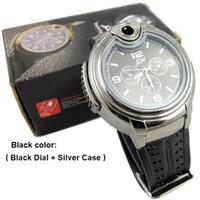 Wholesale Novelty Collectible Watch Men Quartz Watches Cigarette Lighter Watch Cigarette Butane Lighter Wristwatches Brand New