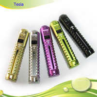 Wholesale Hottest Electronic Cigarette Tesla VV MOD beyond lavatube Variable Voltage Tesla Body E cig use Battery
