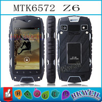 Z6 Waterproof Android Smart Phone 4G ROM MTK6572 Dual Core 1...