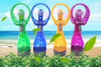 Wholesale Portable Mini Fan Battery Fan Cool Down Spray Fan Child Fan In Hand Water Mist Fan