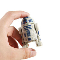 Wholesale Star Wars R2D2 Flash Drives R2 D2 Robot Pendrives Real GB GB GB GB USB Memory Stick U Disk Retail Box