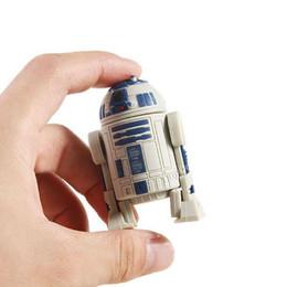 Star Wars R2D2 Flash Drives R2-D2 Robot Pendrives 100% Real 2GB 4GB 8GB 16GB USB Memory Stick U Disk + Retail Box