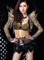 Women's Clothings Stage clothing dancing wear Fashion Modern...