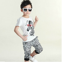 Cheap Boy Childrens Activewear Best Summer Pullover kids sport clothing