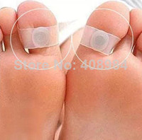 Wholesale Slimming Silicone Foot Massage Magnetic Toe Ring Fat Weight Loss Health