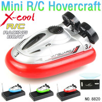 Wholesale New radio control rc Mini speed hovercraft remote control hovercraft remote control mini hovercraft