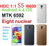 Wholesale Octa Core MTK6592 Show G S5 SM G900 GB GB Android KitKat USB G WCDMA G GSM Single Micro Sim Card MP Camera Smartphone