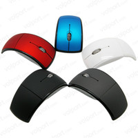 Wholesale USB Wireless GHz Cordless Arc Folding Mouse For Laptop Desktop Tablet pc