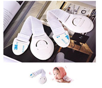 Wholesale Baby Child double door cabinet lock multifunctional safety Toilet safety guard