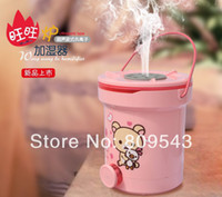 Wholesale New Show High Quanlity Home Supplies Creative Cute Cartoon Pattern Ultrasonic Supersonic Anion Air Humidifier random shipments