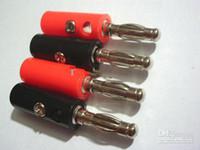 banana plug binding post - high quality banana plug for mm Binding Post Speaker Fedex DHL