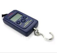 Disposable Household Scales 30KG Free Shipping Mini Fishing Hook Weight Hanging Balance Pocket Portable Weighing Digital Scale 40kg 20g