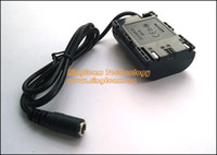 Wholesale LP E6 Fake Battery DC Coupler DR E6 DRE6 Power Supply Connector For Canon EOS D Mark III D Mark II D D D D DSLR Cameras