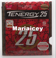 Wholesale Beautiful Butterfly TENERGY T25 table tennis rubber pingpang rubber