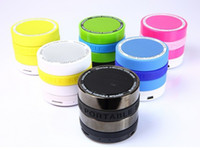 4.1 For MP3 Player HiFi 30 pcs Mini Camera Lens Super Bass Universal Bluetooth Speaker Wireless Speakers FM Radio TF Card Music Player For Tablets Phones MP3