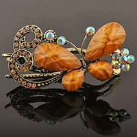 Wholesale 1 Piece Fashion Vintage Butterfly Hair Duck clip Side Hairpins Headwear Women Ornament E025