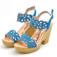 Half Boots Women PU BUENO 2013 hot new women high-heeled shoes fashion hollow peep toe sandals sweet rhinestone shoe HM015