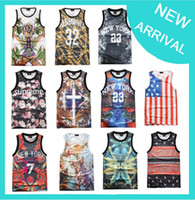 Basketball Jersey Men Sleeveless T Shirts Pairs And Spares