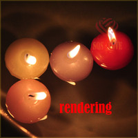 Wholesale Floating candles Home sick once more Light the candles on the water Prayer candles