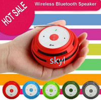 Wholesale S02 speaker Outdoor travel bluetooth wireless mini Speaker Support FM Radios TF Card Bulit in Mic for S4 S5 S S DHL FREE