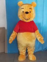 Wholesale WR210 adult yellow bear winnie the pooh mascot costume