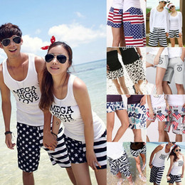 Wholesale 2014 Shorts For Women Men Beach Pants swimwear flag Leopard zebra Fashion Couple Shorts Swimming Mens Girls Board Short Shorts