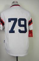 #79 Jose Abreu White Home 2014 Baseball Cool Base Jerseys Au...