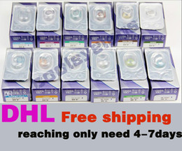 Wholesale DHL Best Price pairs colors Freshlook Contact lenses lens crazy lens Color Contact Tones colors EYE sold NO