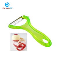 Wholesale 25PCS Chef Aid Potato Vegetable Kitchen Fruit Peeler Slicer Stainless Steel Speedy Blade Alibaba Express