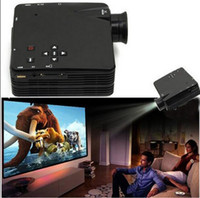 Wholesale SZDEVEC New Arrival LZ H80 LED Projector With HDMI AV VGA SD USB Digital Video Projectors Multimedia Player Home Theater