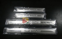 Wholesale Hyundai Tucson door sill plate scuff plate footplate stainless steel Auto Accessories Auto Parts