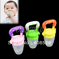Wholesale dropshipping Baby products for feeding Fresh Food New Baby Supplies Nibbler Feeder Feeding Tool Colors available