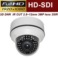 Wholesale Uinvision HD SDI P MP cctv dome camera built in mm megapixel lens w IR IP68 weatherproof Axis ICR WDR D DNR waterproof c
