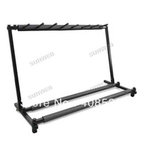 Wholesale 2014 New Electric Bass Guitar Rack Display Hanger Stand Spaces Drop Shipping TK0853